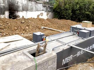 黑臭水处理设备在农村废水治理中的应用