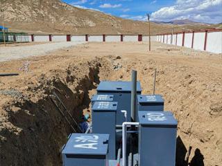 mbr膜一体化污水处理设备安装